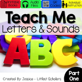 All About the Alphabet BUNDLE Part 1 of 2  [Audio & Intera