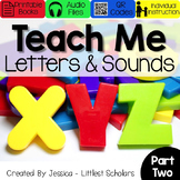 All About the Alphabet BUNDLE Part 2 of 2 [Audio & Interac