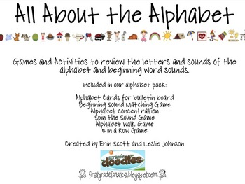 All About the Alphabet (letters and sounds)