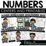 All About the Numbers 0-20 Interactive Printables {Bundle}