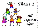 All Together Now - Theme 1 HFW  Houghton Mifflin 1st Grade