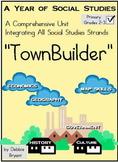"Social Studies: All Year ""TownBuilder!"" Grades 2-3"