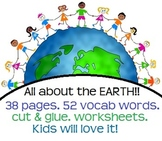 All about the Earth! Landforms & bodies of water! Activiti