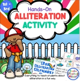 Alliteration Alive-Bringing Alliteration to Life for Young