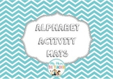 Alphabet Activity Mats