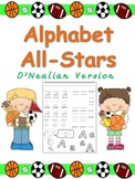 Alphabet All-Stars Handwriting Practice for Kindergarten-