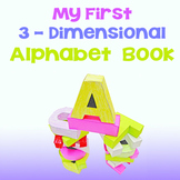 Alphabet Book Activities {3 Dimensional}