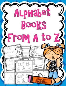 Alphabet Activity Books From A to Z! 186 Pages of Alphabet Fun (all letters)
