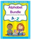 Alphabet Bundle / Alphabet & Phonics Worksheets