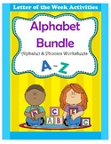 Alphabet Bundle / Alphabet & Phonics Worksheets