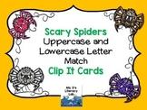 Alphabet Clip It Cards {Halloween}