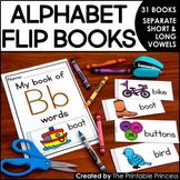 Alphabet Flip Books {31 Books to Practice Letter Recogniti
