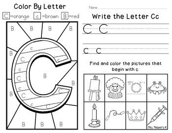 Alphabet Fun-Letter C