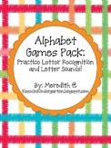 Alphabet Games Pack