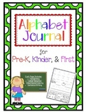 Alphabet Journal-Letter Study