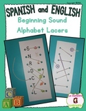 Alphabet Lacers: Beginning Sound to Letter Matching (Spani