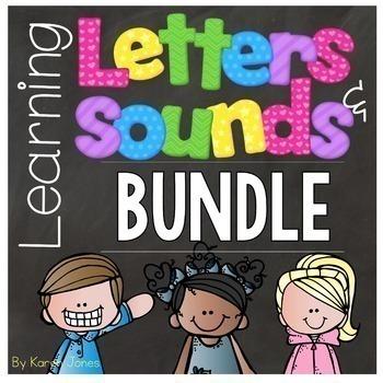 Alphabet Letters and Sounds {BUNDLE+}
