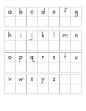 Alphabet Match-Up Activities