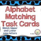 Alphabet Matching Task cards