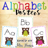 Alphabet Posters - Owls