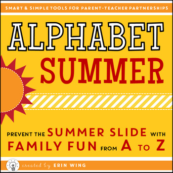 Alphabet Summer Learning Pack