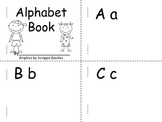 Alphabet book for beginners or strugglers