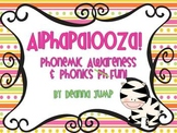 Alphabet Alphapalooza Phonemic Awareness and Phonics Fun