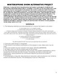 Publicity Project: Alternative Assessment for Students Who