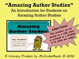 Amazing Author Studies (Introduction Author Study Mini-Lesson)