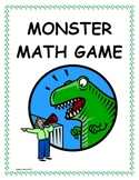 Amazing Math Centers - Monster Math! (Median, Mean, Mode,