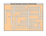 AmerGovt: Executive Crossword Puzzle