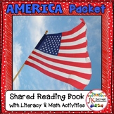 American Symbols Packet! Literacy & Math Activities {CCSS}