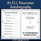 America, Here I Am!-An ELL Newcomer Autobiography