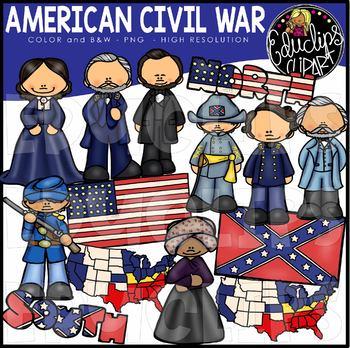 American Civil War Clip Art Bundle