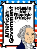 American Government- Branches/Levels/Foldables Freebie!