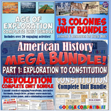 American History Mega Unit Bundle Part 1 - Colonies to Jackson