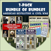 "American Revolution & Civil War ""Bundle of Bundles"" - OVER"