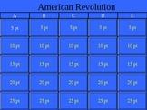 American Revolution Jeopardy!