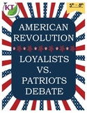 American Revolution Loyalist vs. Patriot Debate