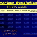 American Revolution Trivia Game