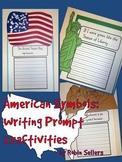 American Symbols: Writing Prompt Craftivities