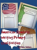 American Symbols: Writing Prompt Craftivities