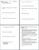 Amphibians Homework Assignment