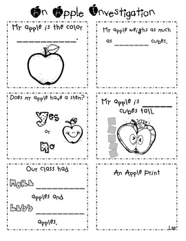 An Apple Investigation Activity