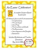 An Easter Celebration! Interactive Scripture Based Easter