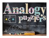 Analogy Puzzlers: Critical Thinking Task Cards!