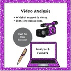 Analyzing a Short Video Writing Assignment