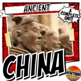 Ancient China Activity and Note Bundle Common Core Grades 5-8