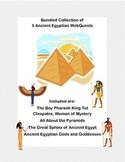Ancient Egypt  5 WebQuest Collection-Bundled for Savings