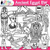 Ancient Egypt Civilization Clipart [LINE ART]